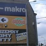 Reklamní plachta Slavičín - 4tint.cz